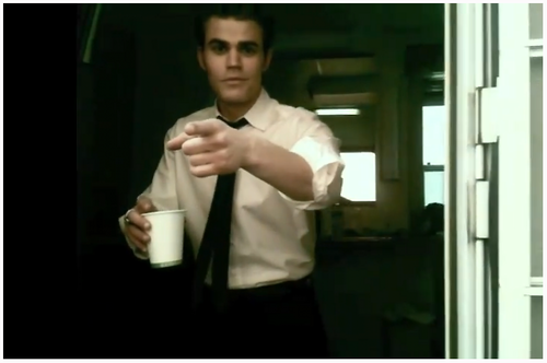 Behing the scenes with Paul/Stefan