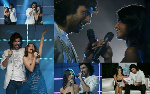 Beren saat and Engin Akyurek