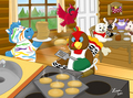 Breakfast at Webkinz Cabin - webkinz fan art