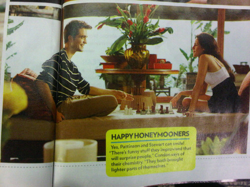 Breaking Dawn magazine stills