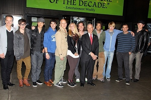 Broadway's Gershwin Theatre with Glee Cast