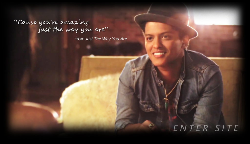 Bruno Mars Bruno Mars Just the way you are