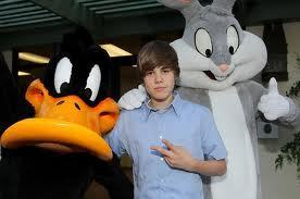 Bugs&Daffy with Justin Bieber !
