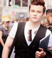 Chris Colfer in New York