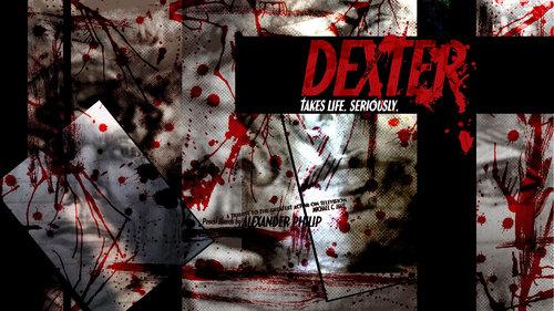 Dexter Pencil Sketch fond d'écran par Alexander Philip