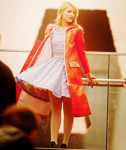Dianna Filming in NYC