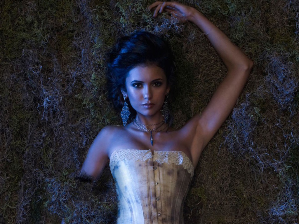 nina dobrev as katherine pierce hot girls wallpaper
