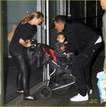 Ellen Pompeo & Chris Ivery Fly With Stella - ellen-pompeo photo
