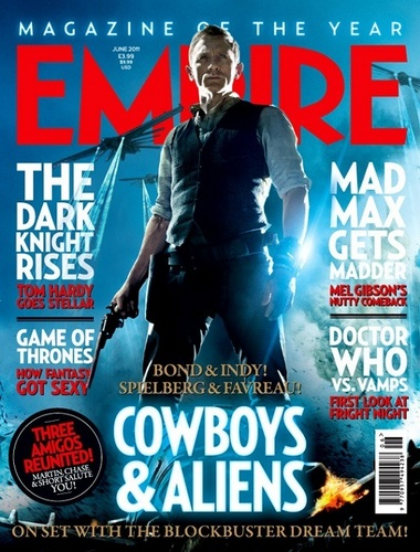 Empire Magazine's 'Cowboys & Aliens' Cover for the June 2011 Issue