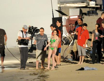 "Filming ""Breaking Dawn"""