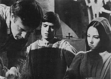 Franco Zeffirelli filming the 1968 Romeo and Juliet