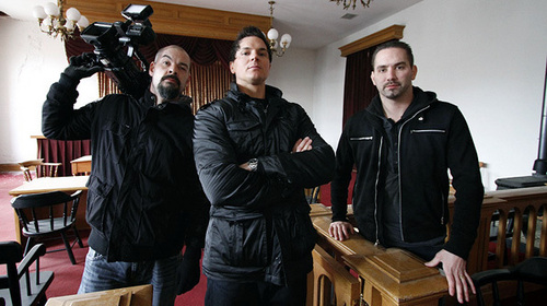 Ghost Adventures wallpaper probably containing a lectern and a packing box entitled G.A.C