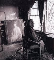 Big Edie, with her portrait