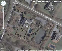 Grey Gardens, aerial view