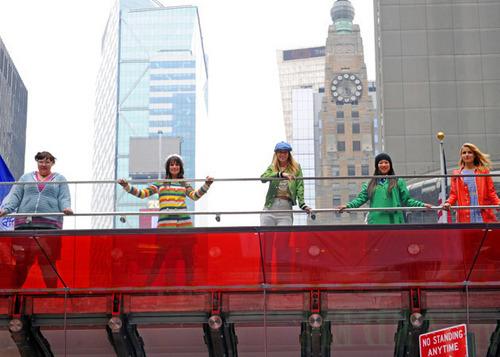 欢乐合唱团 in NYC