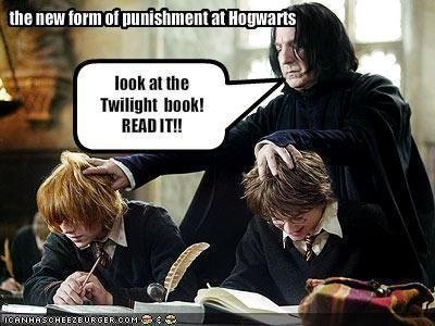 Harry potter and snape