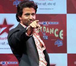 Hrithik just dance