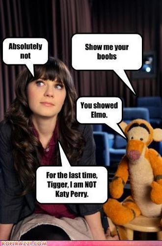 I'm NOT Katy Perry!