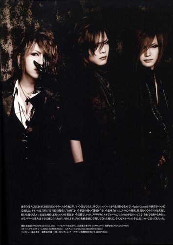 Kai, Uruha and Ruki