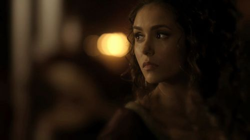 Katerina Petrova wallpaper possibly containing a portrait titled Katerina in the 2x19 flashbacks! [HQ]
