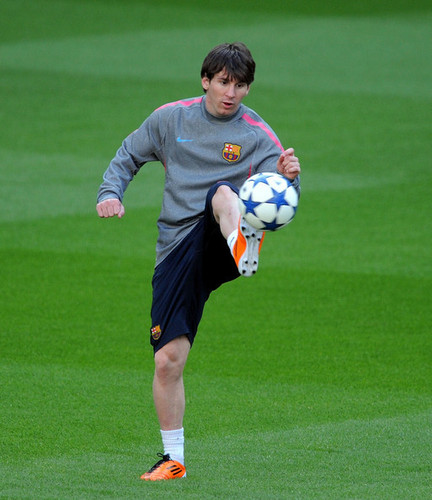 L. Messi (Barcelona Training Session)