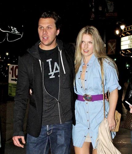 Leaving the संगीत Box in L.A - April 19, 2011