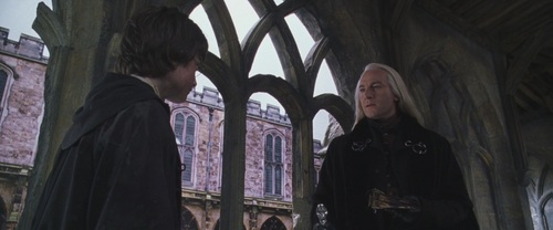 Lucius in COS - lucius-malfoy Screencap