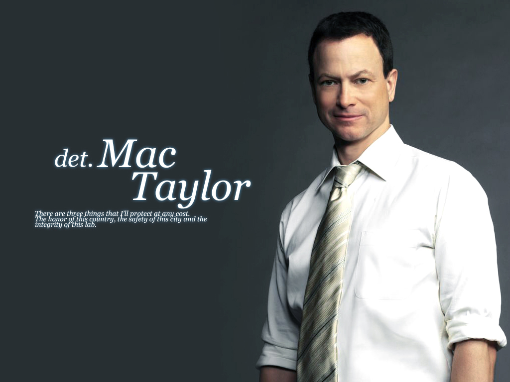 Mac Taylor fan art