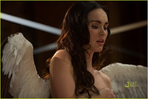 Megan Fox wallpaper probably with a portrait called Megan Fox: 'Passion Play' Clip - EXCLUSIVE