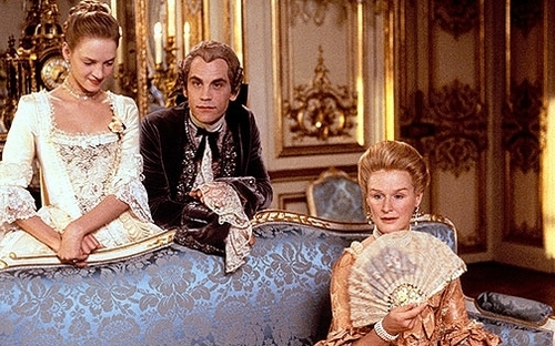Period Drama Villains wallpaper probably containing a throne and a drawing room called Merteuil and Valmont