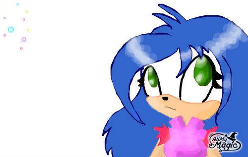 Mia the hedgehog