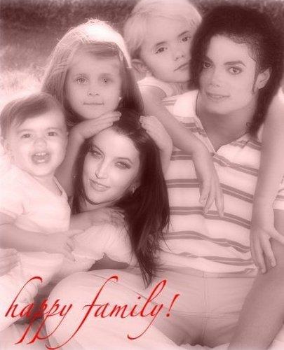 Michael, Lisa, Prince, Paris, Blanket
