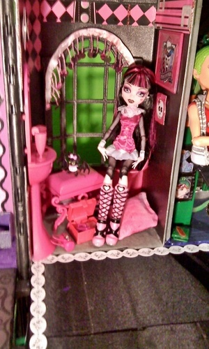 Monster High Custom Made Doll House - monster-high Photo