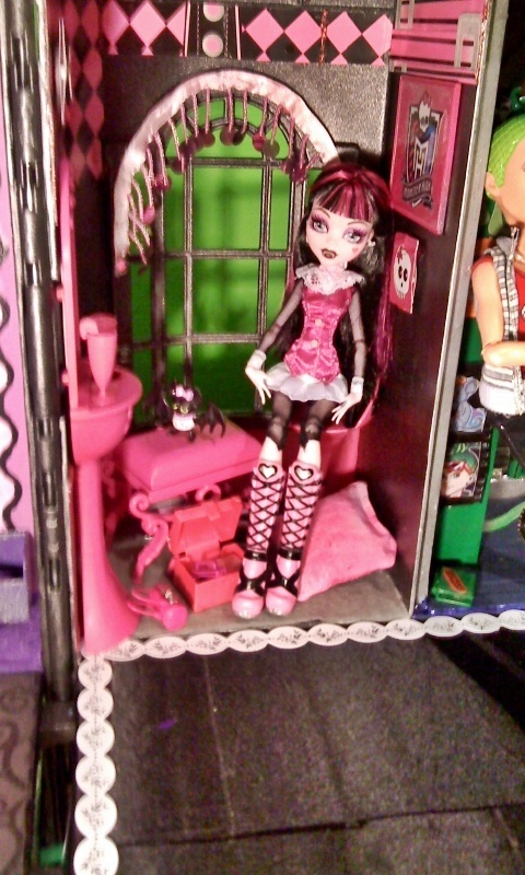 Monster High images Monster High Custom Made Doll House HD wallpaper and background photos (21491100)