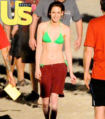 meer Robsten Pics From BD Shooting at St.Thomas