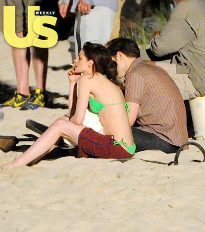 lebih pics of Rob and Kristen filming april 22nd