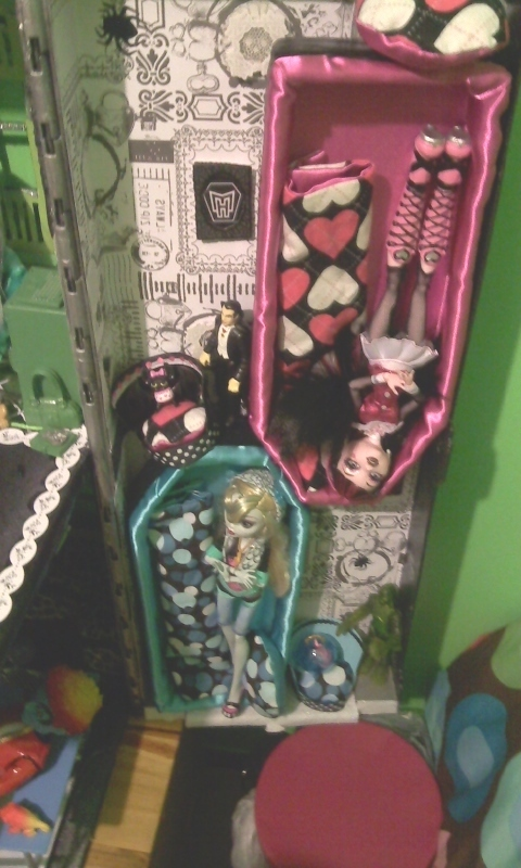 My Custom Mh Doll House Monster High Fan Art 21492289