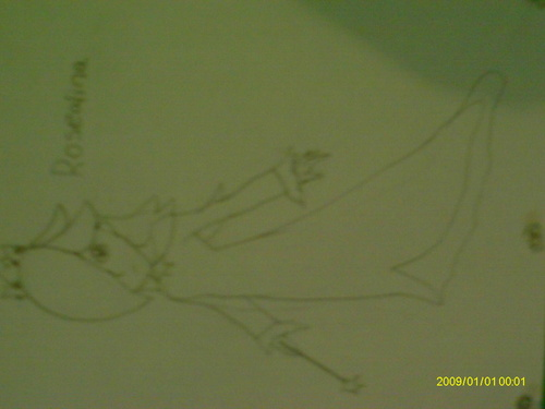 My drawing of Rosalina