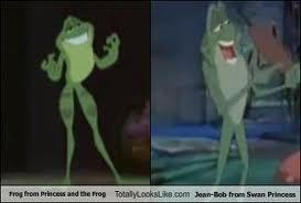Naveen vs Jean-Bob (Princess and the Frog vs The thiên nga Princess)