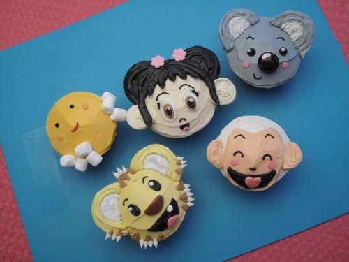 Ni Hao, Kai-Lan Cupcakes