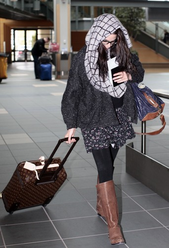 Nikki in LAX airport