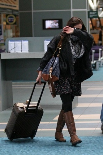 Nikki in LAX airport