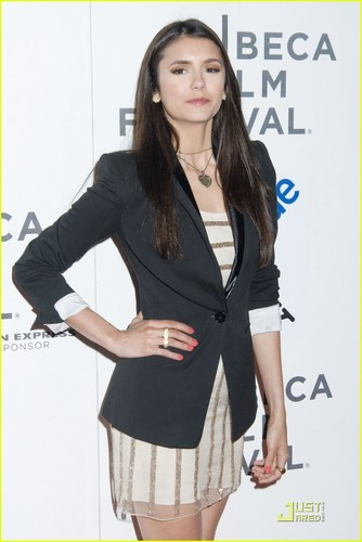 Nina Dobrev: 'Last Night' at Tribeca Film Festival!