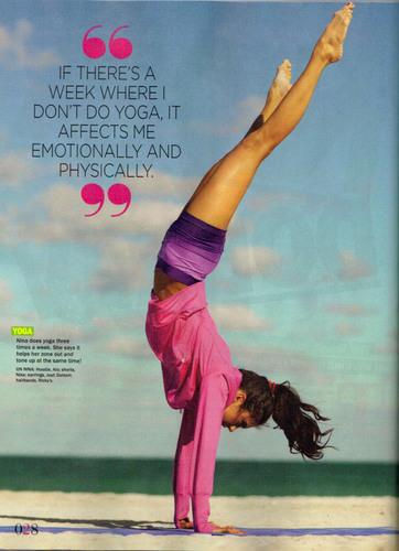 Nina Dobrev - Seventeen Fitness