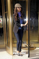 Nina Dobrev leaves the CW's Studios 27th April