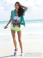 Nina's 'Seventeen Fitness' photoshoot [May 2011] ♥