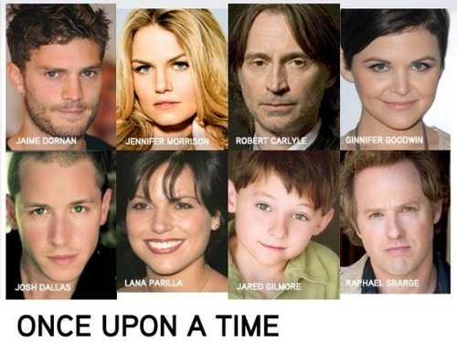 Once Upon A Time wallpaper with a portrait entitled Once Upon A Time- Cast