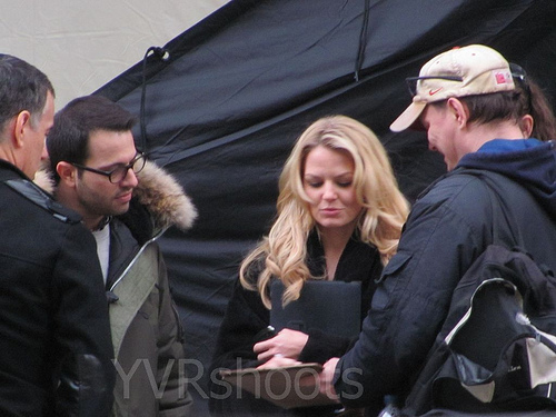 Once Upon a Time - BTS Set mga litrato - Jennifer Morrison - 24th March 2011