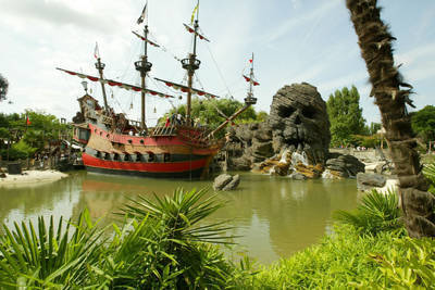 Outside view of Pirates of the Caribbean