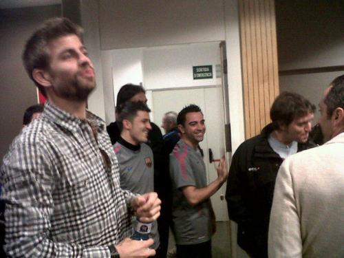 Piqué welcomes Shakira